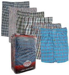 48 Bulk Boxer Shorts Single Pack Size M Pack of 1
