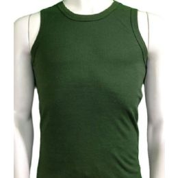 36 Bulk Boys Tank Top Size 8-12 In Assorted Colors Black/grey/green