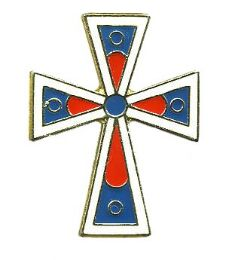 96 Bulk Brass Hat Pin, Cross