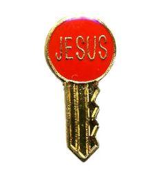 "96 Bulk Brass Hat Pin, ""jesus"" Key,"