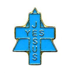 "96 Bulk Brass Hat Pin, ""yes Jesus"","
