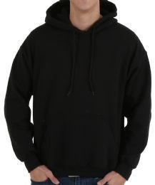 30 Bulk Gildan Mens Black Irregular Fleece Hoodie Size xl