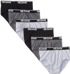 72 Bulk Gildan Mens Imperfect Briefs, Assorted Colors And Sizes
