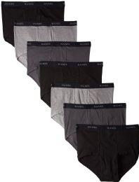 144 Bulk Hanes Mens Assorted Colors Briefs Size XL