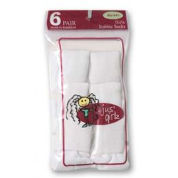 36 Bulk Kid's Socks Assorted Sizes Of 6-81/2