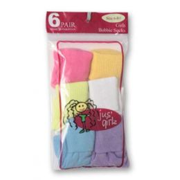 36 Bulk Kid's Socks Assorted Sizes Of 6-81/2