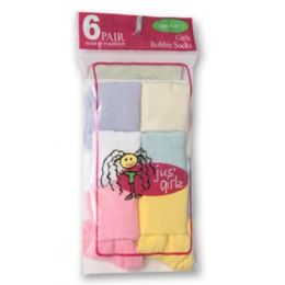 36 Bulk Kid's Socks Assorted Sizes Of 9-11