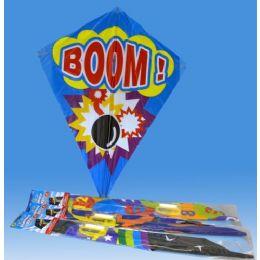 36 Bulk Kite In Poly Bag Header Card 6 Asst.