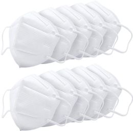 10000 Bulk Kn95 Mask Anti Pollution Breathable Masks Disposable Anti Dust, Germ Protection For Men And Women White
