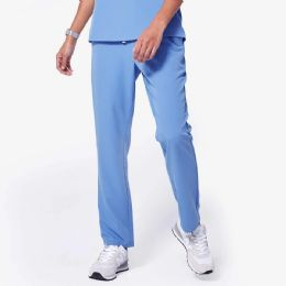 48 Bulk Ladies Blue Medical Scrub Pants Size Large