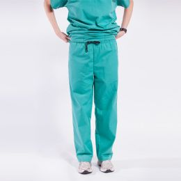 48 Bulk Ladies Green Medical Scrub Pants Size Medium