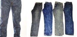 24 Bulk Men's Fashion Jeans