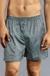 144 Bulk Men's Boxer Shorts Size M