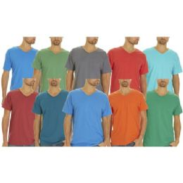 SOCKS/'NBULK Mens Cotton Crew Neck Short Sleeve T-Shirts Mix Colors Bulk Pack Value Deal