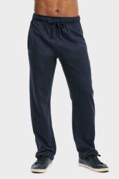 36 Bulk Men's Lightweight Fleece Sweatpants In Navy Size 2xl