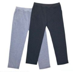 24 Bulk Mens Athletic Pants Size Xlarge In Black And Grey