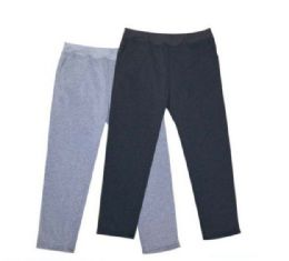 24 Bulk Mens Athletic Pants Size Xxlarge In Black And Gray