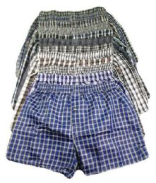 240 Bulk Mens Boxer Shorts Size S-xl