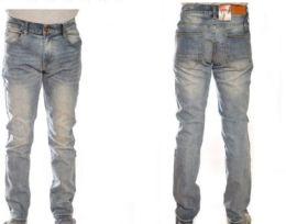 12 Bulk Mens Fashion Stretched Denim