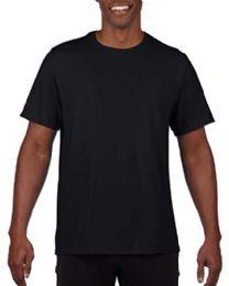 36 Bulk Mens Cotton Crew Neck Short Sleeve T-Shirts Black, XxX-Large