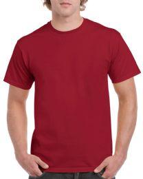 36 Bulk Mens Cotton Crew Neck Short Sleeve T-Shirts Red, X-Large