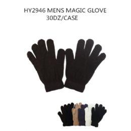 108 Bulk Mens Magic Gloves Assorted Colors