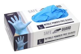 1000 Bulk Nitrile Powder Free Exam Gloves Single Use Medical Graded Size L