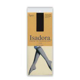 120 Bulk Queen Size Comfort Top Isadora Sheer Knee High Solid White