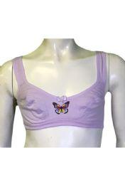36 Bulk Spade Girls Training Bra Assorted Colors Size 36