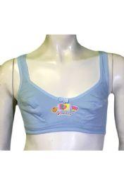 36 Bulk Spade Girls Training Bra Assorted Colors Size 32