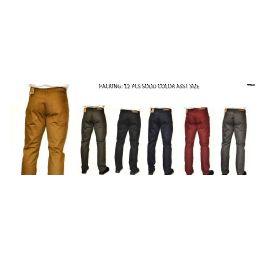 12 Bulk Straight Leg Heavy Twill 100% Cotton In Khaki Only