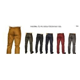 12 Bulk Straight Leg Heavy Twill 100% Cotton In Black Only
