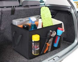 12 Bulk Home Basics Foldable Trunk Organizer With Cooler
