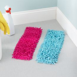 24 Bulk Home Basics Ace Collection Replacement Chenille Mop Pad