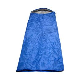 10 Bulk Yacht & Smith Temperature Rated 72X30 Sleeping Bag Solid Blue