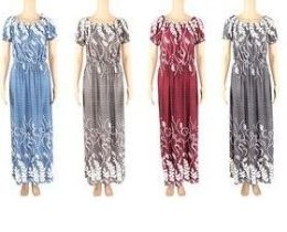 48 Bulk Womans Summer Dress In Assorted Sizes