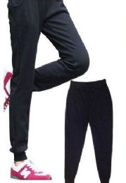 24 Bulk Womens Athletic Pants Size Xxlarge Assorted Color