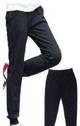 24 Bulk Womens Athletic Pants Size Large Assorted Color