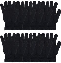 72 Bulk Yacht & Smith Unisex Black Magic Gloves