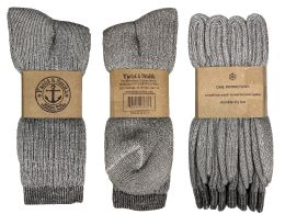 240 Bulk Yacht & Smith Terry Lined Merino Wool Thermal Boot Socks For Men And Woman Mix Case Set