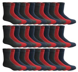 180 Bulk Yacht & Smith Womens Wholesale Winter Thermal Crew Socks Size 9-11