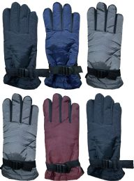 72 Bulk Yacht & Smith Women's Winter Warm Waterproof Ski Gloves, One Size Fits All Bulk Buy