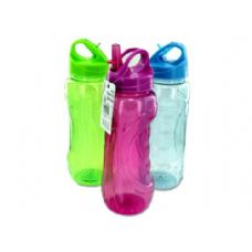 Wholesale Sports bottle with flip straw