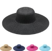 Wholesale Ladies Solid Color Sun Hats