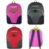 Wholesale SPORTPAK BACKPACKS WITH FAUX SUEDE BOTTOM - at ... 2aabd26c08879